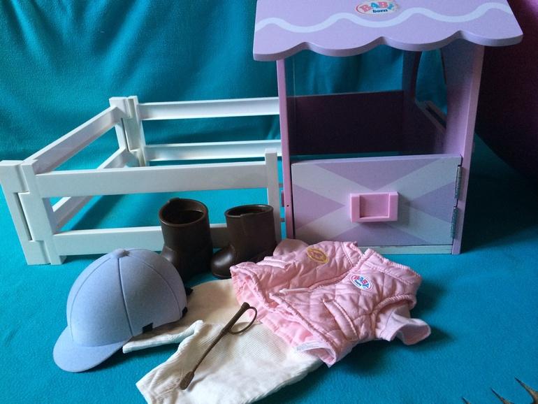 Конюшня для Baby Born и одежда