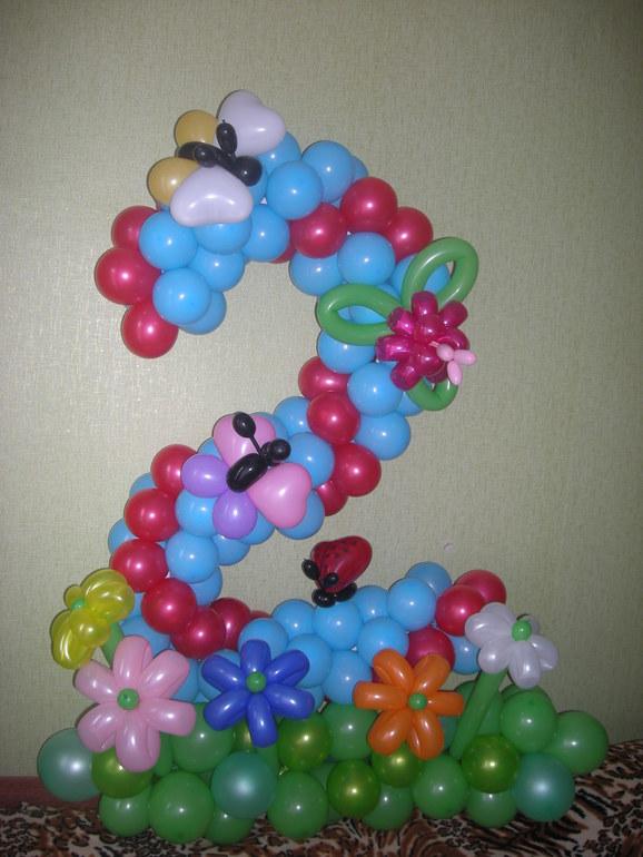 Объемные фигуры из воздушных шаров