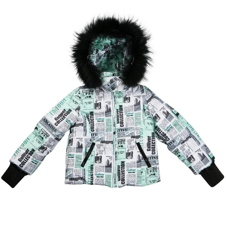 Новый комплект куртка (110) и п/комбез (104) Gulliver, Газета, 5000 р