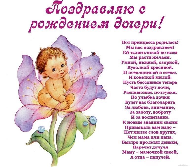 Поздравления с днём рождения ребёнка родителям 1 год