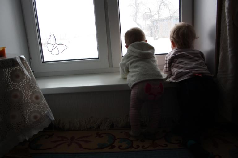 Один наш день. В гостях у бабушки...
