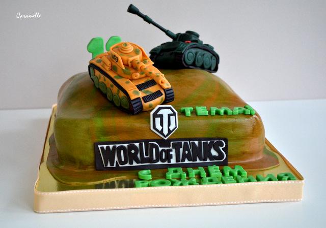 Торт танки ворлд оф танк своими руками