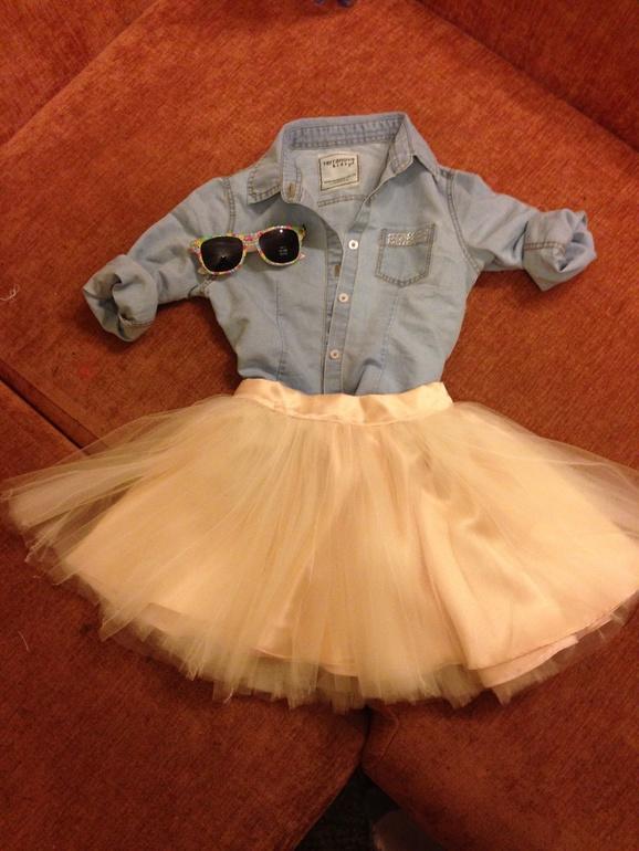 Как сшить юбку для себя и дочки 846