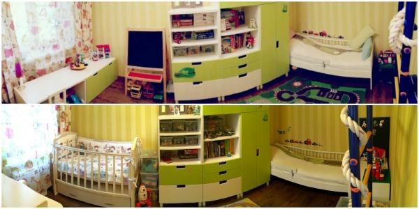 Как хранить игрушки в детской