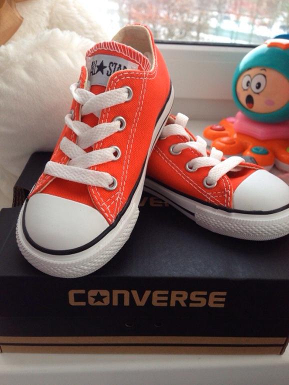 Converse  для  девочки  или  мальчика.  Оригинал