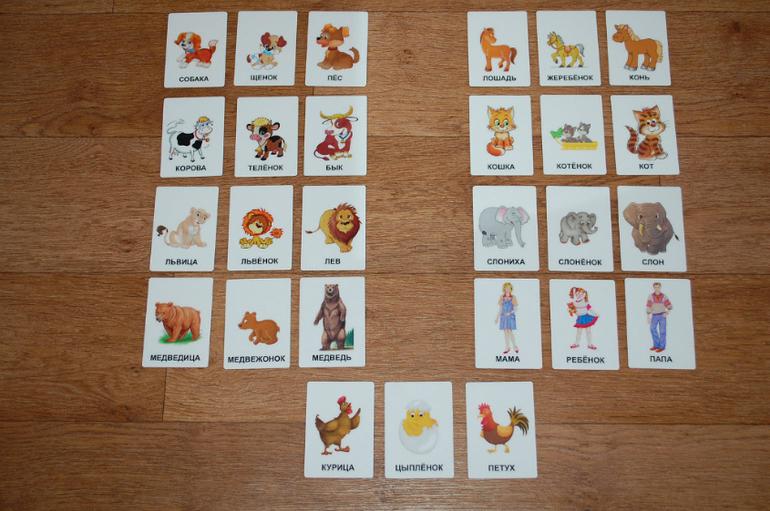 Делаем развивающие карточки