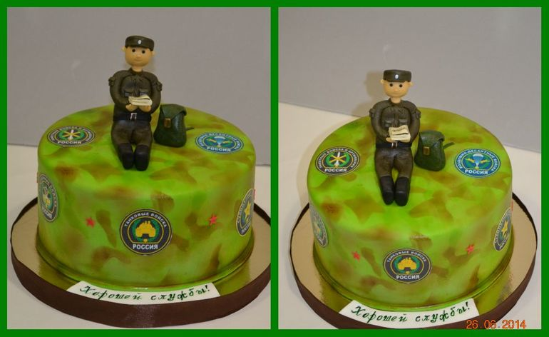 Торт в день армии фото