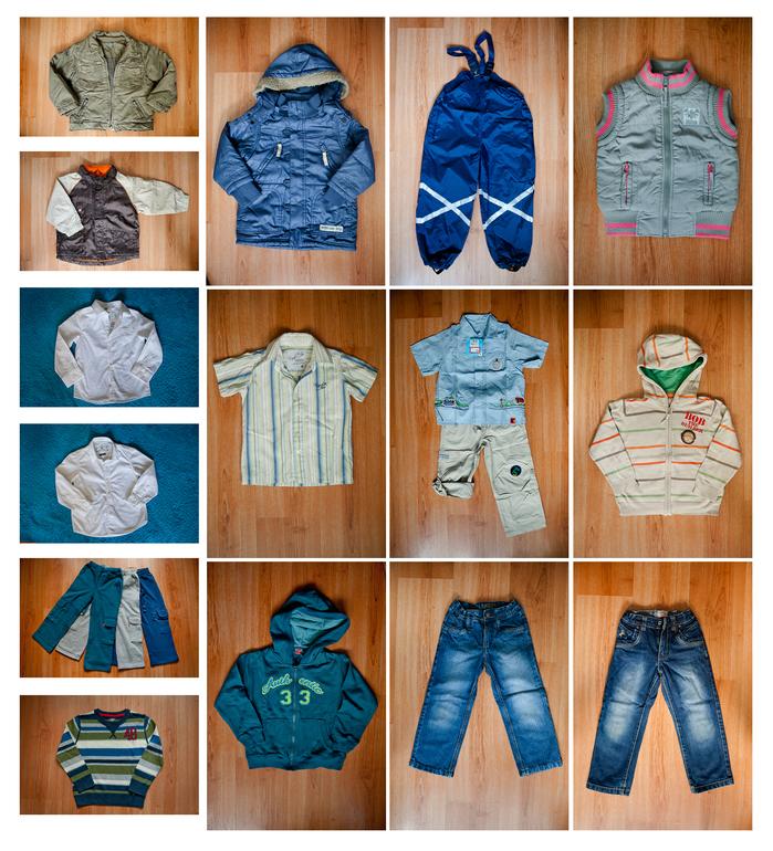 Одежда на мальчика 3-6 лет, новая и немного БУ
