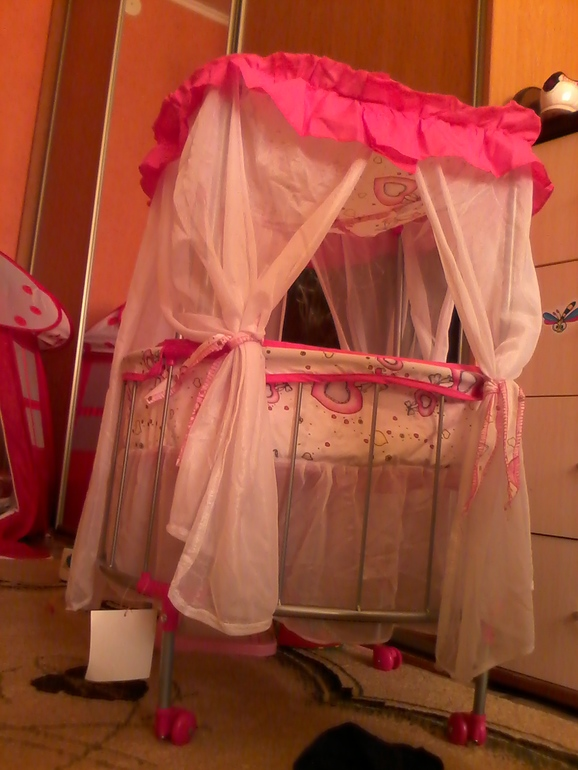 наша кроватка:-)
