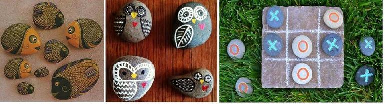 Картинки из камней своими руками для 1 класса 54