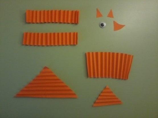 Поделки из треугольников и треугольники