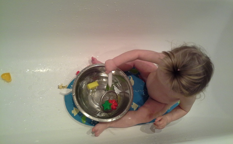 Моторика № 8. В ванной