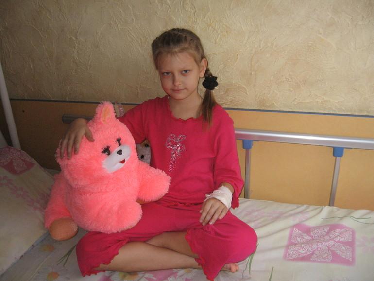Просим о помощи больному ребенку