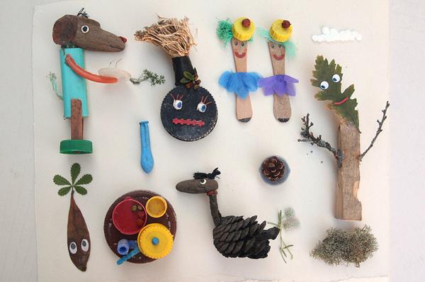 Поделки из подручного материала в детском саду