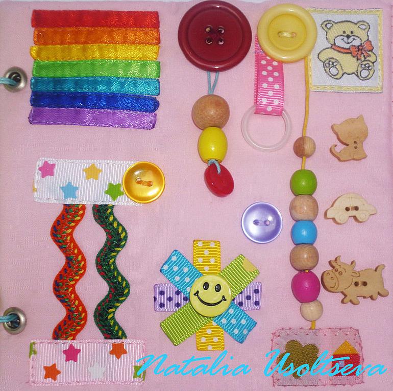 Развивающие игрушки своими руками для детей до года 7