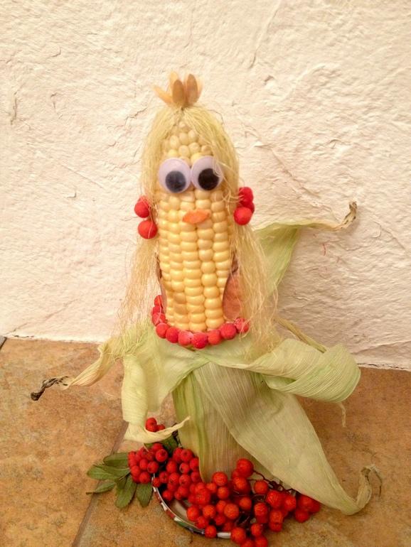 Поделки из кукурузы 63