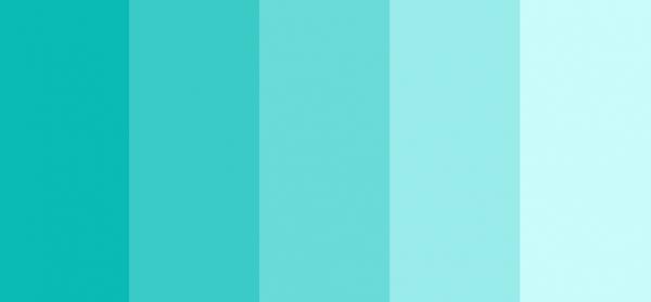 бирюзовый цвет палитра фото