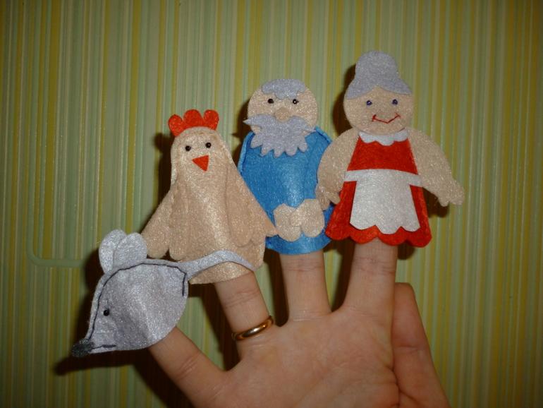 Театр пальчиковых кукол своими руками 10