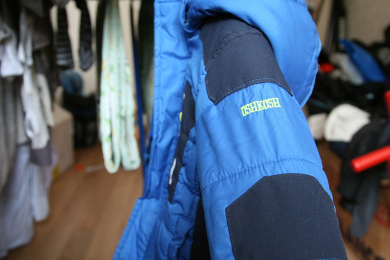 Продам куртку ОшКош и зимние полукомбинезон, на рост 80-85.