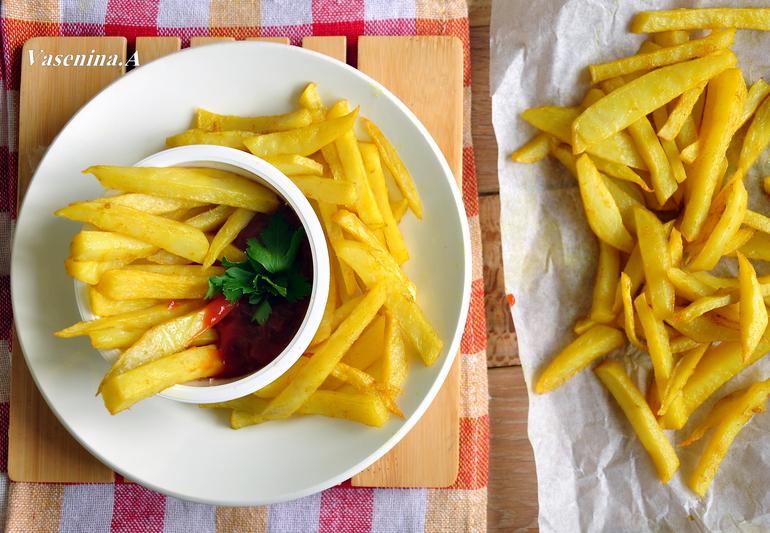 Рецепт картофеля фри в домашних условиях с фото пошагово
