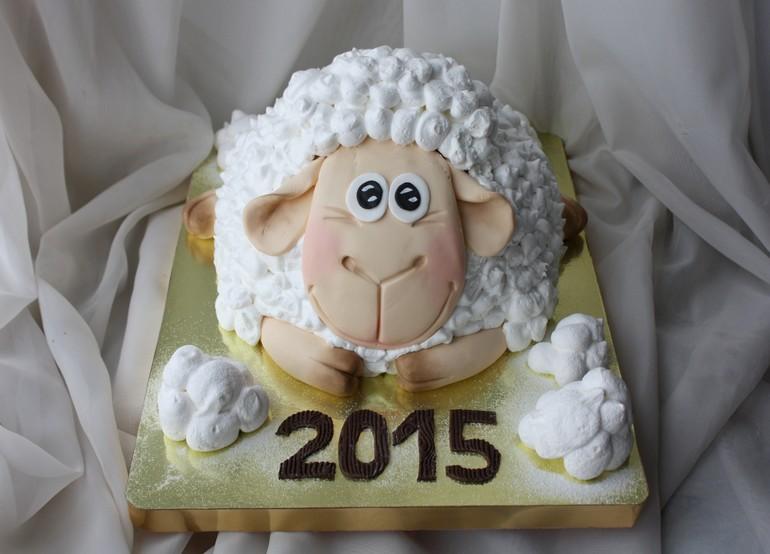 Как сделать торт овца