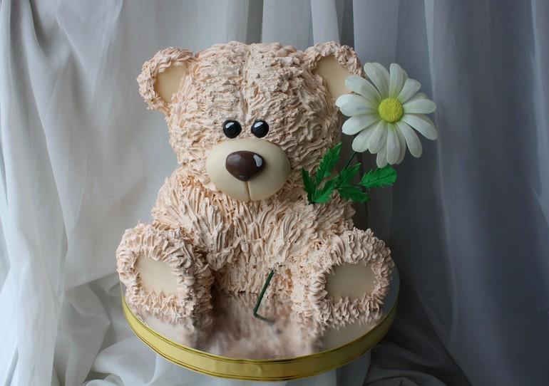 Как сделать торт мишку своими руками - Простые рецепты вкусных десертов 1