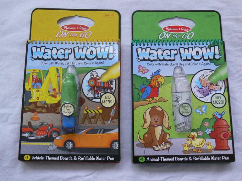 Водные раскраски от Melissa & Doug  - оценка 5+