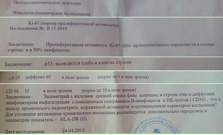 Хр. эндометрит аутоиммунного