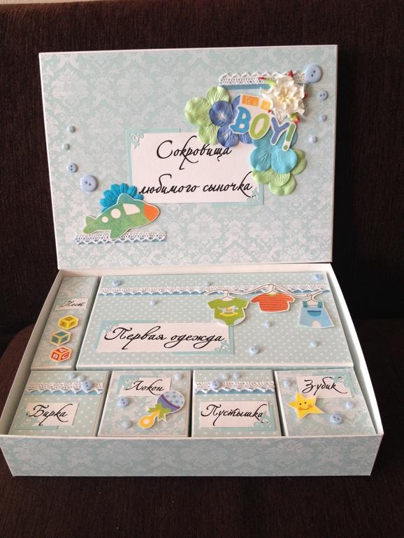Ящик для открыток своими руками 2