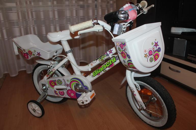 Велосипед детский Bianchi Bikerz 12