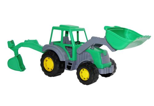 Трактор с прицепом №1 Мастер купить оптом, цена в интернет.