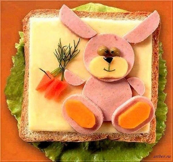 Креативный завтрак. =)))