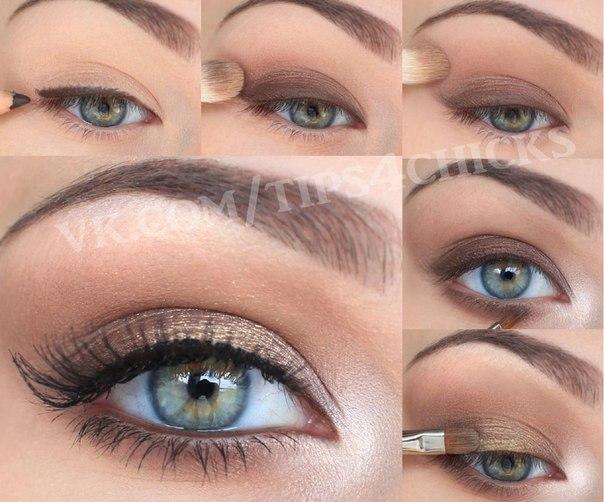 макияж в картинках пошагово - Babyblog.ru.