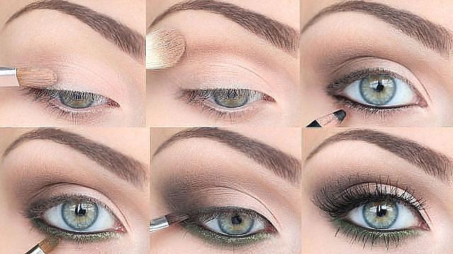 макияж в картинках пошагово