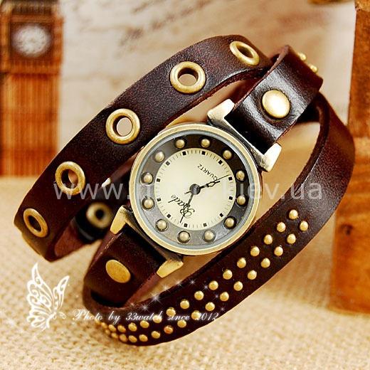 Кожаный браслет на часы своими руками