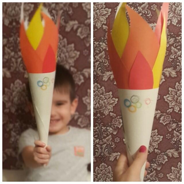 Наши поделки в садик на тему Олимпиады 2014