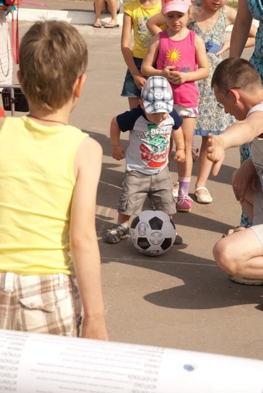 День защиты  детей в нашем микрорайоне