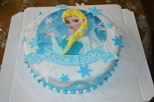 Торт холодное сердце своими руками