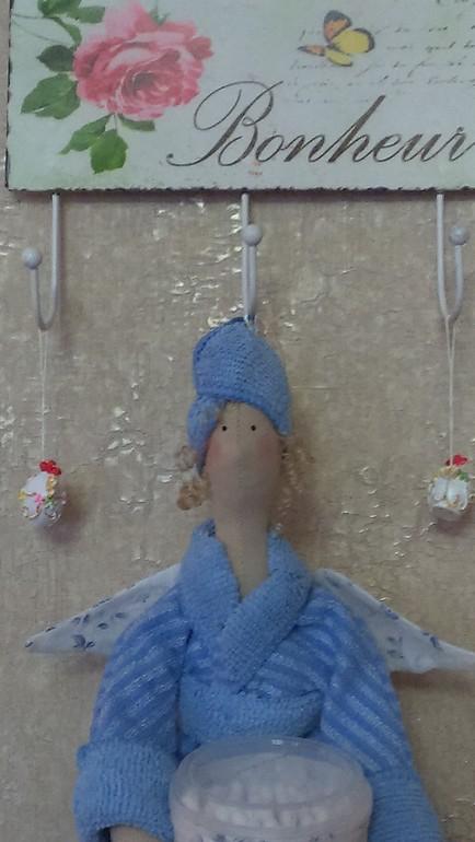 Хранительница в голубом!
