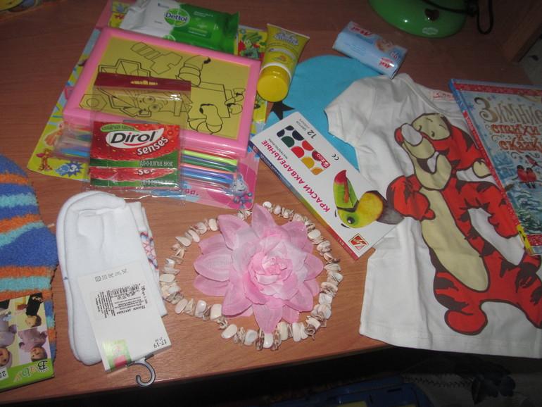 наши подарочки от Олечки!!!!