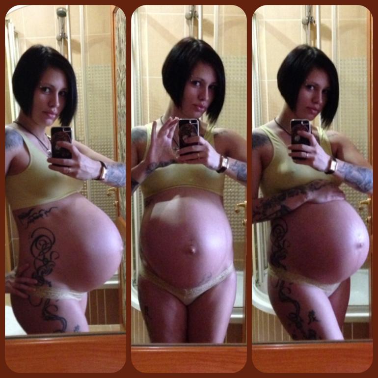 Как двигается живот у беременных 86