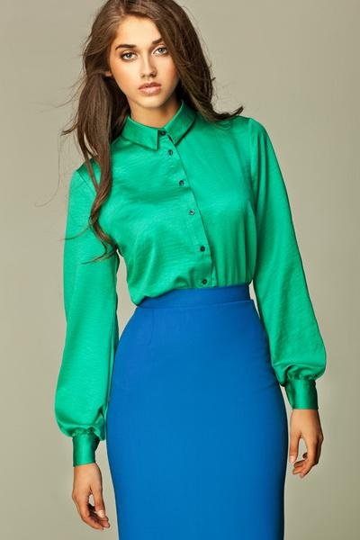 Блузка Зеленого Цвета В Челябинске
