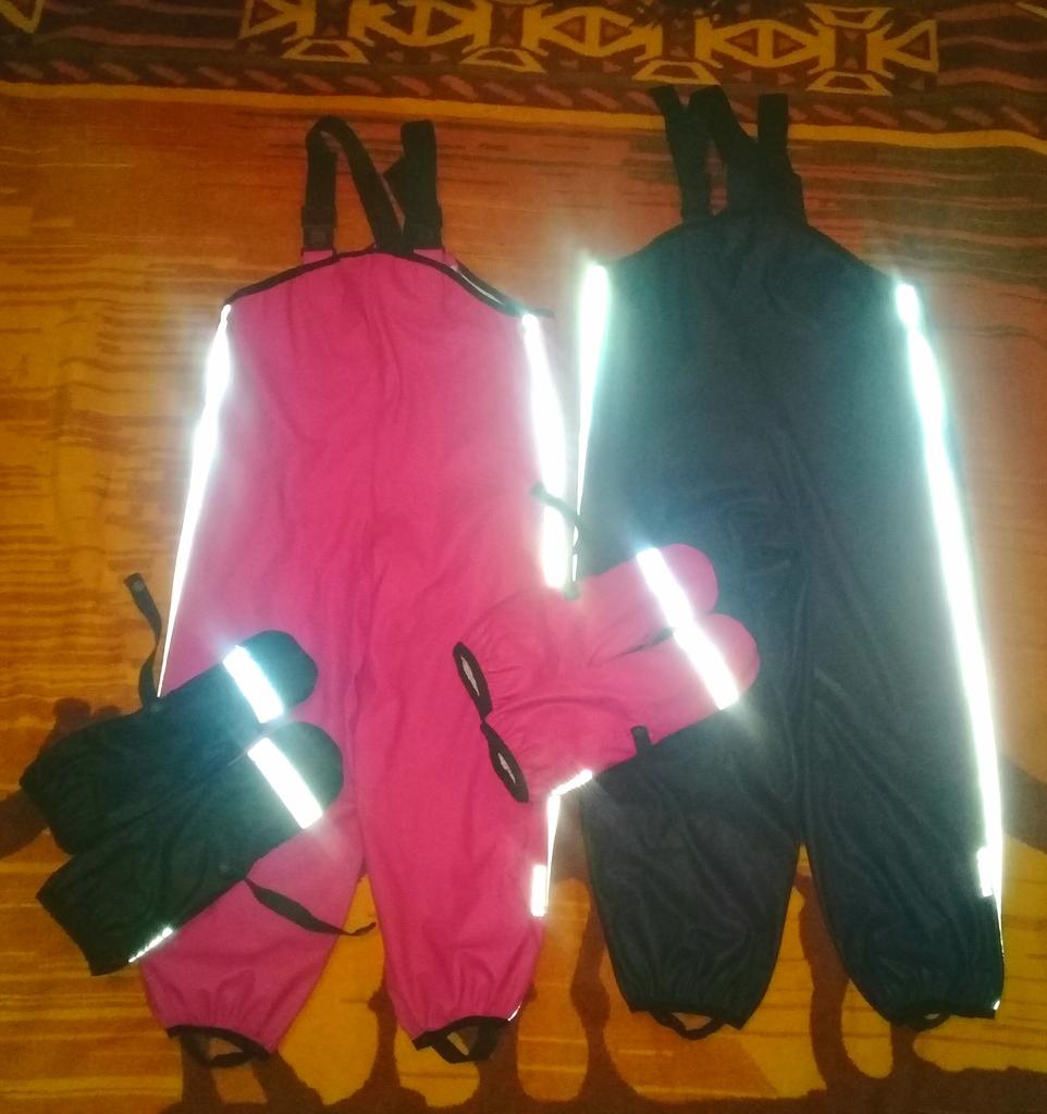 Непромокайки Reima,комбинезоны и рукавицы.