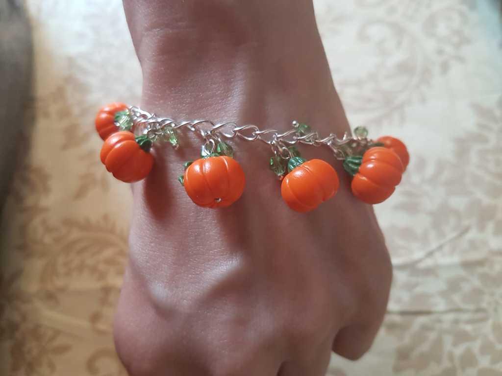 Браслет- тыквы