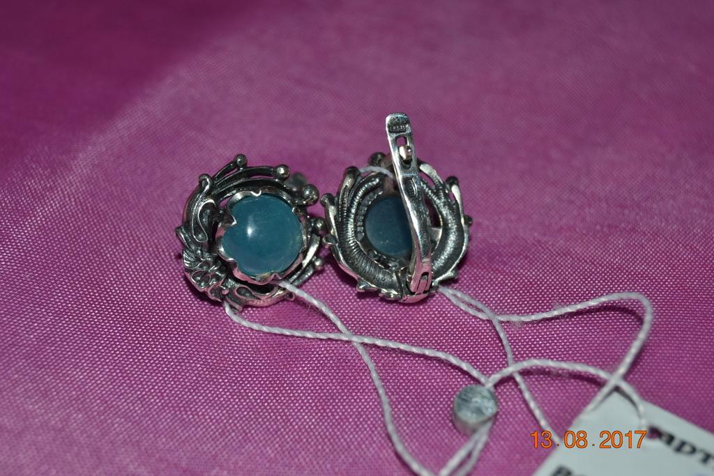 Новые украшения из серебра