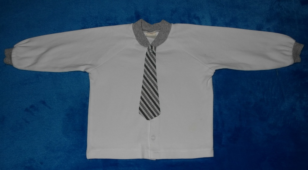 Кофточка с галстуком Ё-маё, 74-80 см