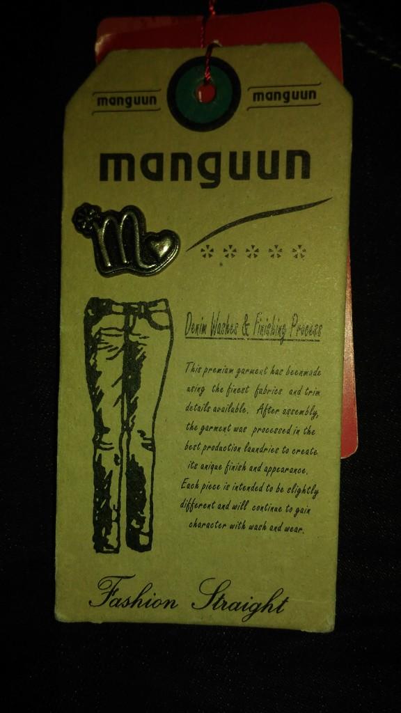 Джинсы Manguun, нем.р.38