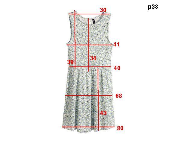 Платье Н&М, нем.р.38