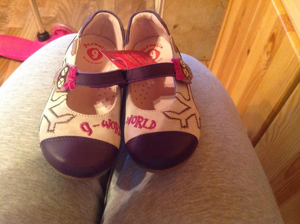 Туфли Испанские для девочки garvalin
