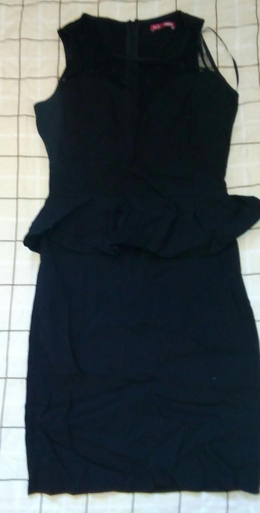 Платье чёрное р.42-44 мини фирма ТВОЕ